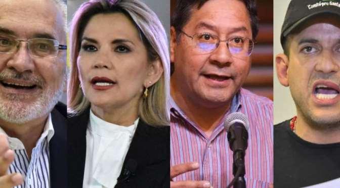 Siete candidatos confirmaron presencia en el debate, falta el MAS