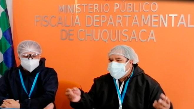 Denuncian que fiscales reciben amenazas tras aprehensiones en Sucre