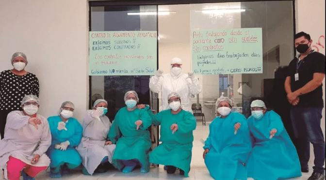 500 médicos trabajan ya tres meses y todavía no les pagan