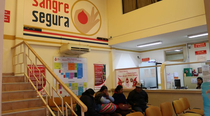 Vaca: El único Banco de Sangre de Tarija trabaja con un presupuesto reducido