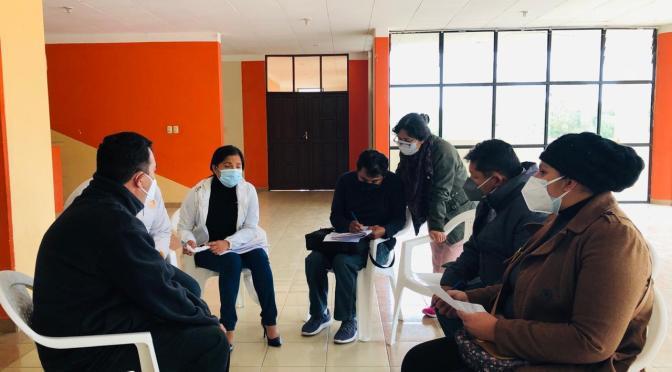 Evalúan el servicio en centros de salud del área rural en Cercado