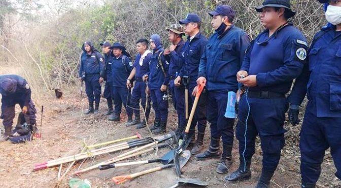 Gestión de Riesgos se activa para luchar contra el fuego en Buzuy