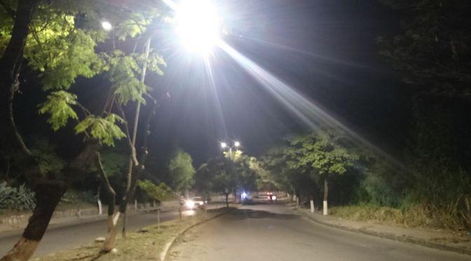 Anuncian el asfaltado y colocado de luminarias en la ruta a la Planta de San Blas