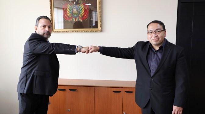 Kuguimiya: Aduana de Tarija cumplirá objetivos de tributación y apoyará exportaciones