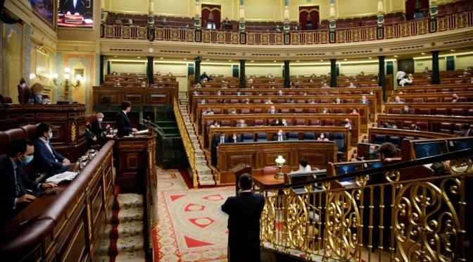 El Congreso de España aprueba la prórroga del estado de alarma hasta el 9 de mayo