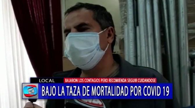 Se reduce el número de contagios por covid 19 en Tarija