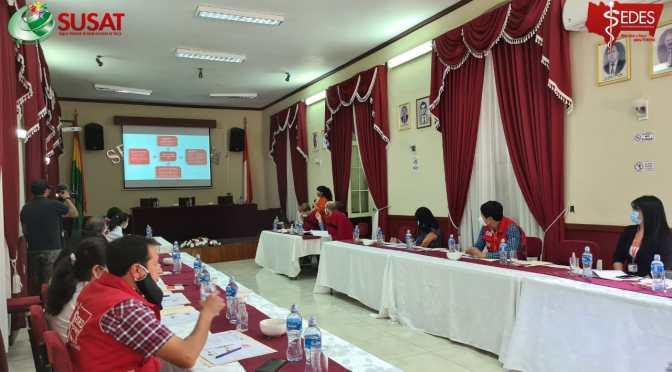 Realizan taller en Tarija con expertos alemanes sobre el manejo de la pandemia