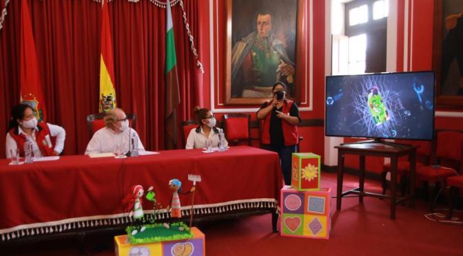 Gobernación presenta la Plataforma de Primera Infancia para Tarija