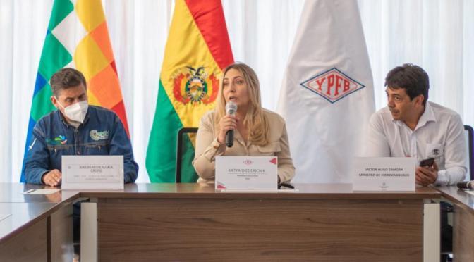 POSESIONAN A PRESIDENTA DE YPFB ANTE TÉCNICOS DEL SECTOR HIDROCARBURÍFERO