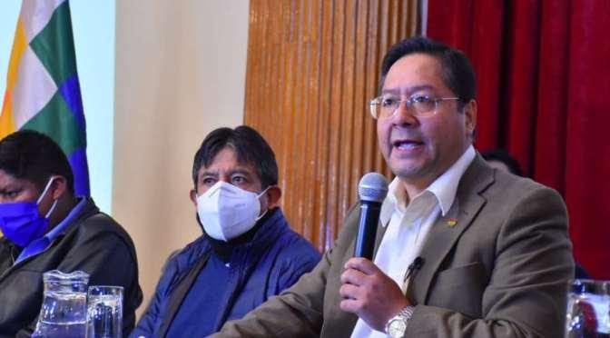 Transparencia presentará una denuncia contra Luis Arce por enriquecimiento ilícito