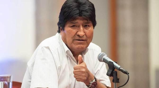 Fiscalía reporta que se dejó sin efecto la notificación mediante edicto a Evo Morales