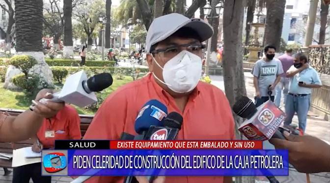 Diputado Castillo señala que hay equipo médico nuevo en Tarija esta guardado por varios años