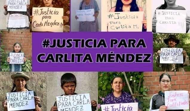 Inician vigilia hasta que Carlita M. Encuentre justicia