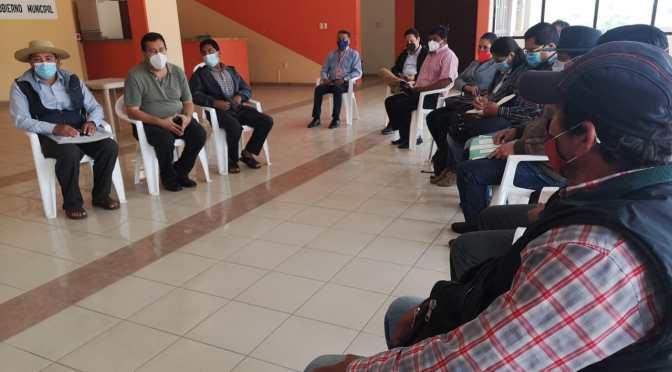Alcalde Lema dará respuesta al sector campesino en diciembre sobre proyectos paralizados