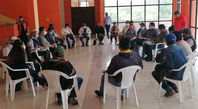 Pica Lema se reúne con el sector campesino para elaborar una agenda de trabajo