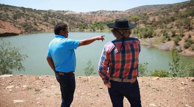 Gobernación impulsa proyecto para implementar 3 presas en Uriondo