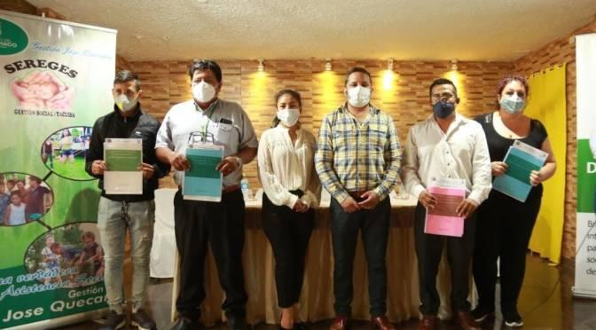 Gobierno Regional del Chaco presentó Plan de Políticas de Protección Social