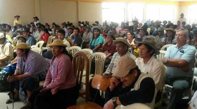 Campesinos bermejeños anuncian bloqueos si no desembolsan el prosol