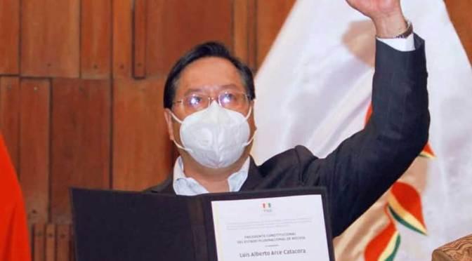 Luis Arce declara bienes por Bs 257 mil y deudas por más de Bs 1 millón