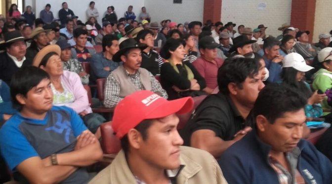 Federación de Campesinos renovará dirigencia el 29 y 30 de enero en un congreso