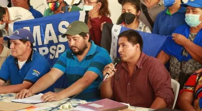 Organizaciones sociales proclaman a Brú y Abrego como candidatos a las subnacionales