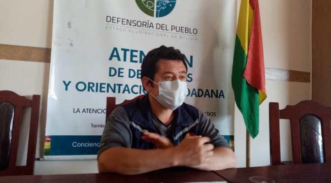 Defensoría del Pueblo realiza seguimiento a denuncias de comunarios de DˈOrbigny