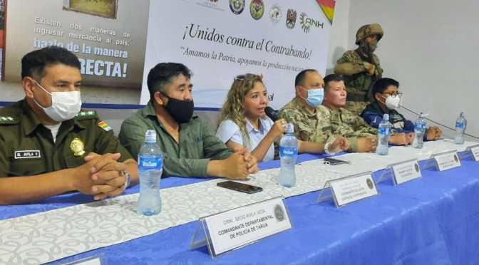 Instituciones de lucha contra el contrabando retoman operaciones en Villa Montes
