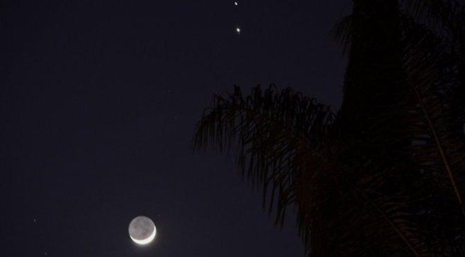 """se vio Espectacular fenómeno astronómico """"Estrella de Belén"""" que no se repetirá hasta el 2080"""