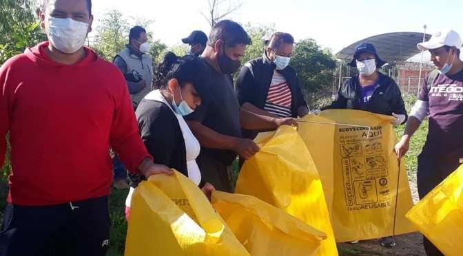 """EMAT y vecinos del barrio San Marcos realizaron limpieza en la quebrada """"El Monte"""""""