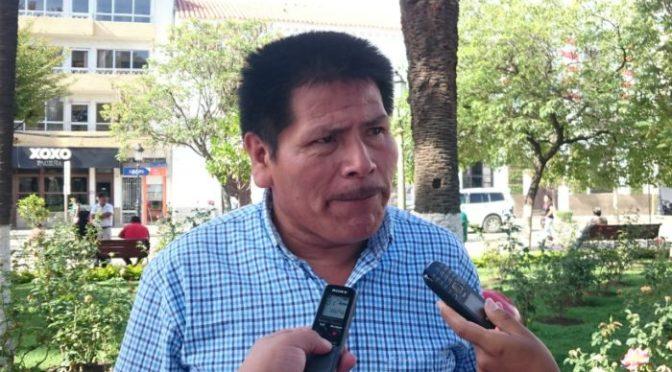 Asambleísta pide dar solución a los problemas generados por la sequía en comunidades de Tarija