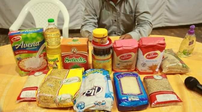 Entregarán las canastas alimentarias del adulto mayor faltantes en enero