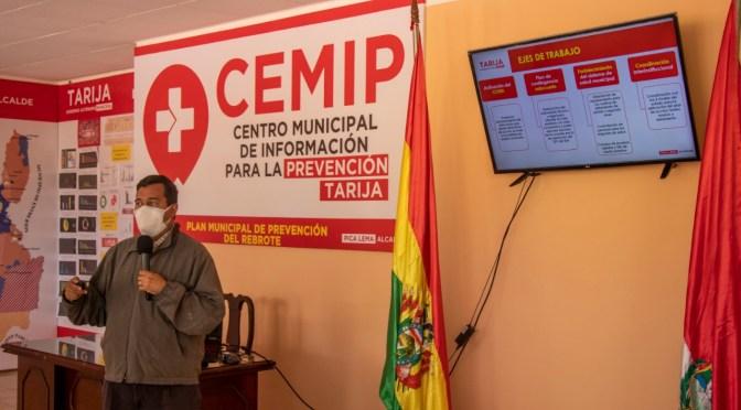 Alcaldía presenta Plan Municipal de Prevención del Rebrote