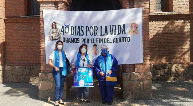 Activistas orarán por 40 días en Yacuiba en rechazo al aborto