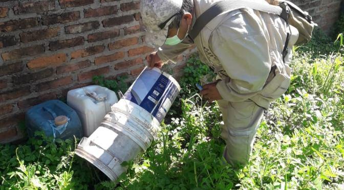 Yacuiba intensifica destrucción de criaderos del mosquito Aedes