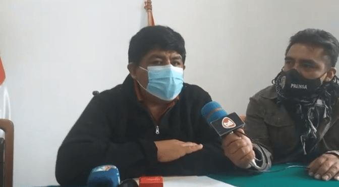 Cívicos buscan que el presidente Arce firme convenio de agenda departamental de Trabajo