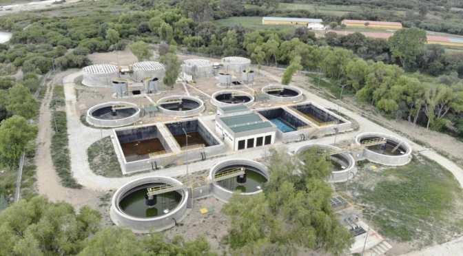 Oliva y Lema concluyen la Planta de Tratamiento de Aguas Residuales de San Blas
