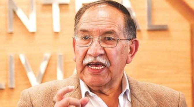 """Fallece legendario dirigente minero Edgar """"Huracán"""" Ramírez"""