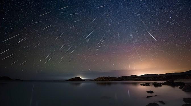 Lluvia de meteoritos en marzo