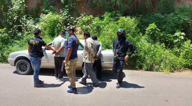 Caen tres sujetos que fingen ser policías para robar bs 765, sucedió en Bermejo