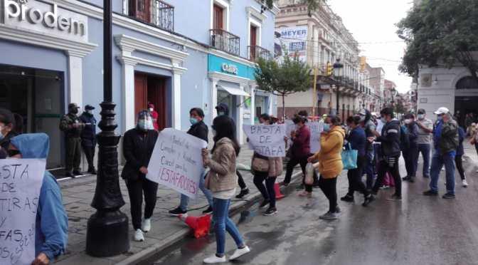 Estafan a 150 familias, el daño económico bordea casi un millón de bolivianos