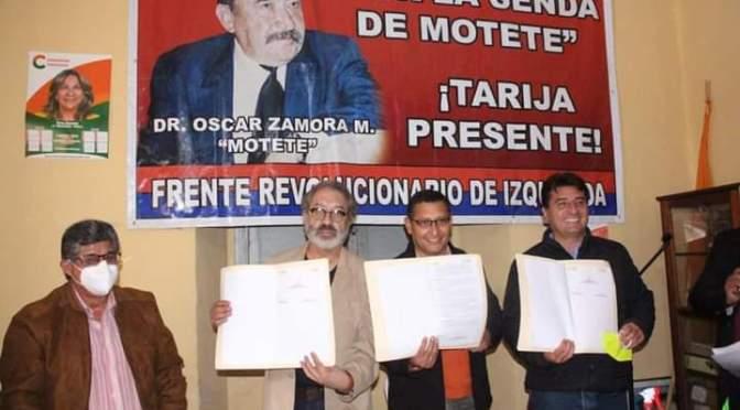 El FRI respalda a Montes en la carrera por la Gobernación