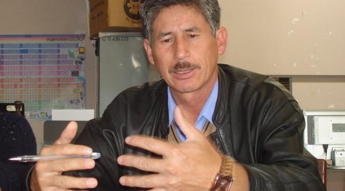Pedro Ordóñez Guerrero es el nuevo director departamental de Educación en Tarija