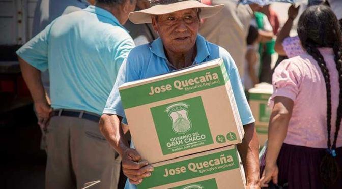 La entrega de la canasta para adultos mayores se reanuda hoy en al menos 13 barrios