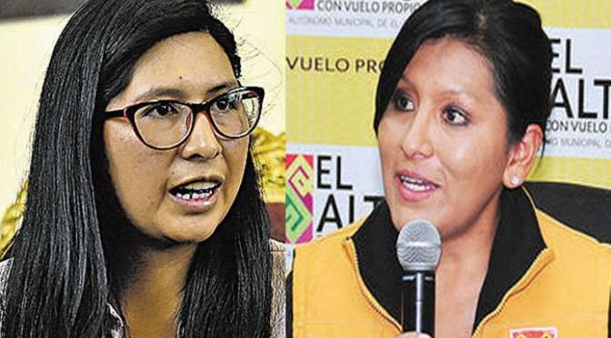 Eva Copa dice que recibirá una Alcaldía alteña en déficit
