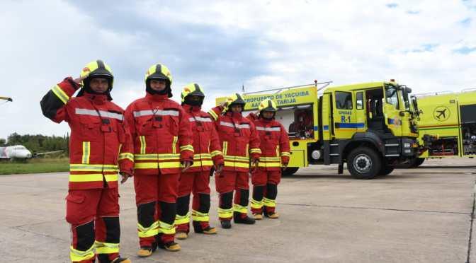 El aeropuerto de Campo Grande es equipado con dos carros bomberos