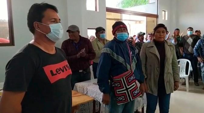 Segun TED:Pueblo indígena Weenhayek eligió a sus representantes por normas y procedimientos propios