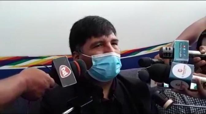 Ministro de Educación llega a Tarija para conocer la problemática sobre las clases