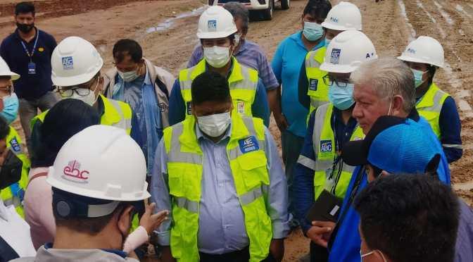 En tiempo récord: ABC coordina con autoridades de Villa Montes la ejecución de un tramo