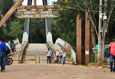 Gobierno instruye el cierre de frontera con Brasil