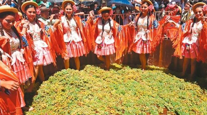 Senado aprueba proyecto de ley que declara Patrimonio Cultural Intangible de Bolivia a la Fiesta de la Vendimia Chapaca